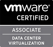Logo VMware Certified Associate Data Center Virtualization